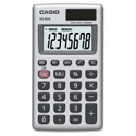 Casio Handheld Calculator Battery/Solar-power HS8V-S-U-H