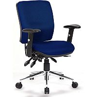 Sonix Support Chiro S3 Office Chair Asynchronous Ocean Blue