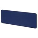 Desktop Privacy Partition Blue 1200mm Trexus