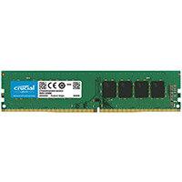 Crucial - DDR4 - 16 GB - DIMM 288-pin - 2666 MHz / PC4-21300 - CL19 - 1.2 V - unbuffered - non-ECC