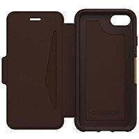 OtterBox Strada Series Folio Apple iPhone 7/8 - Limited Edition - Flip Cover for Mobile Phone - Colour: Espresso