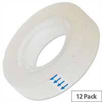 Clear Roll Sticky Tapes 12mm x 33mm Pack 12 5 Star