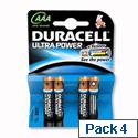 Duracell Ultra Power AAA Alkaline 1.5V Batteries (4 Pack) 75051959