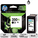 HP 350XL High Yield Black Ink Cartridge CB336EE
