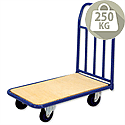 Platform Truck Capacity 250kg Wooden RelX PH350