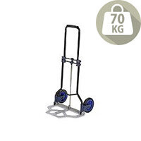 RelX Hand Trolley Folding Capacity 70kg Black and Blue