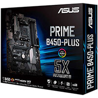 ASUS PRIME B450-PLUS - motherboard - ATX - Socket AM4 - AMD B450
