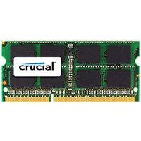 Crucial - DDR3 - 4 GB RAM Memory - SO-DIMM 204-pin - unbuffered for Apple iMac; Mac mini; MacBook (Late 2008, Late 2009, Mid 2010); MacBook Pro