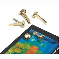 Brass Paper Fasteners 13mm Pack 200 Whitecroft