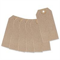 Unstrung Tag Buff 96x48mm Pack 1000