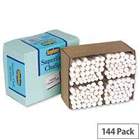Stephens White Chalk Pack 144