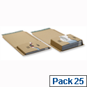 Ambassador Mailing Boxes 300x215x90mm Brown Pack of 20