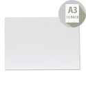 Foamboard Display Board Lightweight Durable CFC-free W297xD5xH420mm A3 White FBD1005WH Pack 10