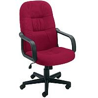 Jemini High Back Managers Office Chair Royal Claret