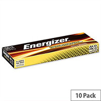 Energizer Industrial AA Battery 1.5V Long Life LR6 (Pack 10) 636105