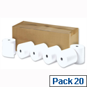 Thermal Printer Rolls 80x80x12.7mm Length 80m Ref TH243 Pack 20