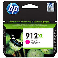 HP 912XL - 10.4 ml - High Yield - magenta - original - ink cartridge - for Officejet 8012, 8014, 8015; Officejet Pro 8022, 8024, 8025, 8035