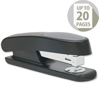 Rapesco R7 Stingray Stapler Half Strip Black