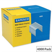 Rapesco 923/10mm Heavy Duty Staples 92310Z3 - Box 4000