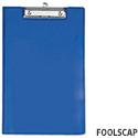 Blue Fold Over Clipboard Foolscap Rapesco