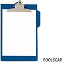 Rapesco A4 Heavy-Duty Clipboard PVC Blue