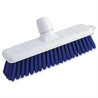 Colour Coded Soft Broom 12 Inch Head Blue