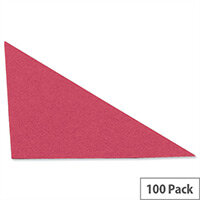 Guildhall Legal Corners Recycled Red Pack of 100
