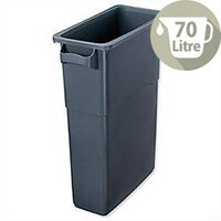 EcoSort Recycling System Maxi Bin 70L Capacity Anthracite Grey Without Lid