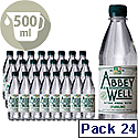 Abbey Well Sparkling Mineral Water 500ml Bottle Pack 24