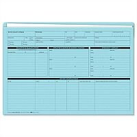 Personnel Forms Personnel Wallets Blue 235x330mm Pack 50 Sigma