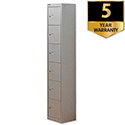 Bisley 6 Door Locker Steel Goose Grey CLK126-73