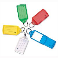 Helix Assorted Sliding Key Fobs Medium Assorted Pack of 50