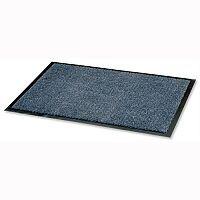 Dust Control Door Mat Polypropylene 900mmx1500mm Blue Doortex