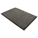 Dust Control Door Mat Polypropylene 600mmx900mm Black and White Doortex