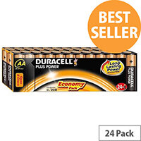 Duracell Plus Power AA Battery Alkaline 1.5V (24 Pack) 81275383