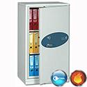 Phoenix Firechief Security Cupboard Fire Resistant 235 Litre Capacity 101kg W670xD525x1240mm