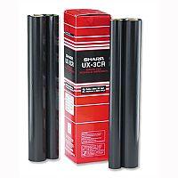 Sharp Fax Ribbon Cassette Black for UX370-470 UX3CR Pack 2