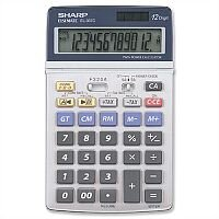Sharp Desktop Calculator Battery/Solar-power EL337EB