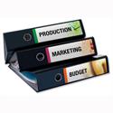 Avery Filing Labels Inkjet Lever Arch J8171-25 100 Labels