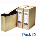 Fellowes Bankers Box Foolscap Storage Bag File Pack 25