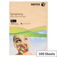 Xerox Symphony Pastel Salmon A4 Paper 80gsm Paper Pack of 500