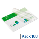 GBC A4 Laminating Pouches 250 Micron Pack 100
