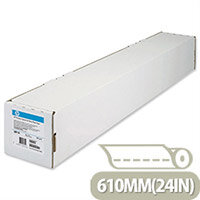HP 610mm x 45m Coated Plotter Paper Roll 98gsm RefC6019B