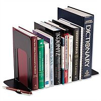Giant Metal Bookends Black Pack 2