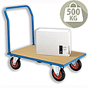 Platform Truck Blue 500kg Capacity