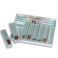 Coin Tray and Banknote Holder Metal Base and £ Pounds Sterling Trays CC1020