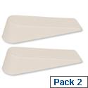Door Wedge Rubber Medium Duty (Pack 2)
