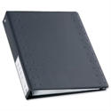 Durable CD and DVD Ring Binder for 40 Disks A4 Grey
