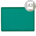 Linex A3 Cutting Mat Anti-slip Self-healing 3 Layers 1mm Grid on Front LXKHCM3045