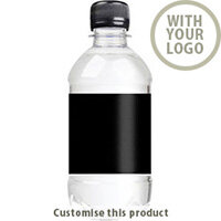 330ml Branded Bottled Water 704107381 - Customise with your brand, logo or promo text